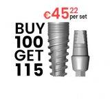 Buy 100 - Get 115 implants