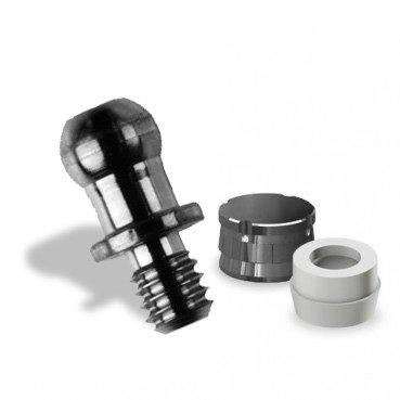 Ball Attachment Set for Implant Slim
